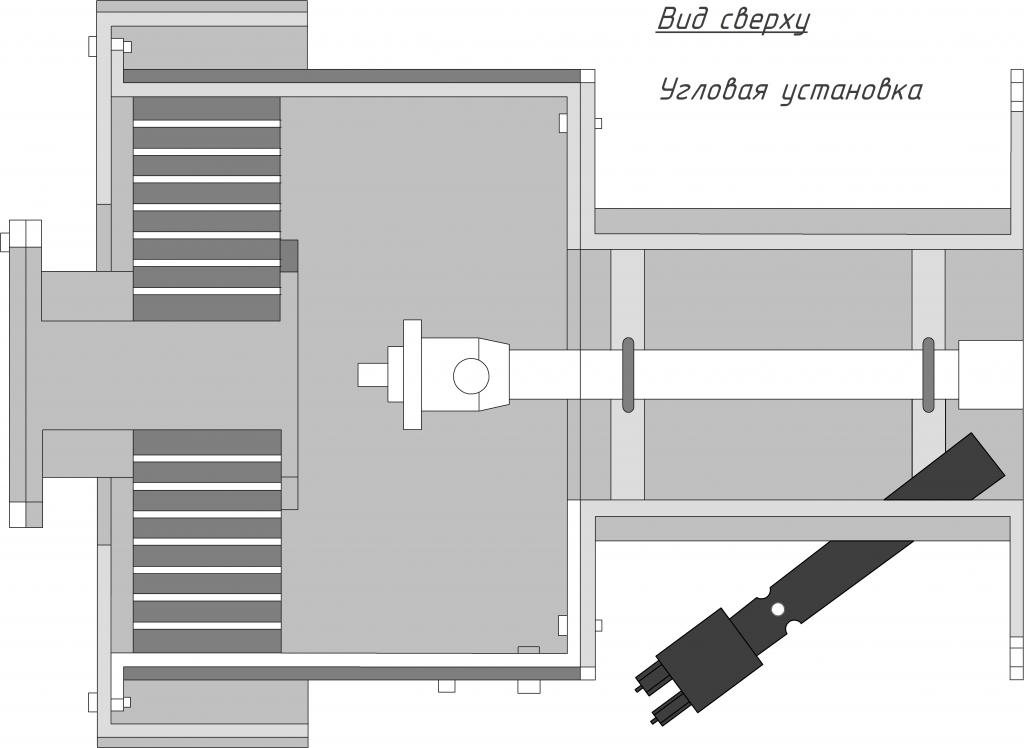Схемы установки-угловая